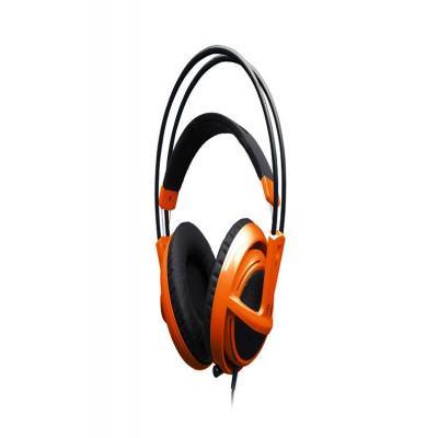 Steelseries headset: Siberia V2 - Zwart, Oranje