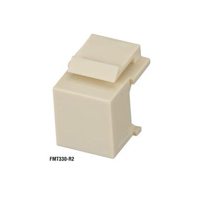 Black Box GigaStation 2 Blank Snap Fitting - Office White, 10-Pack - Wit