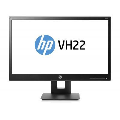 "HP 21.5"" Full-HD monitor - Zwart"