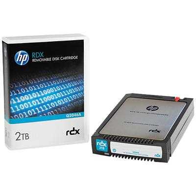 Hewlett Packard Enterprise RDX 2TB Datatape - Zwart