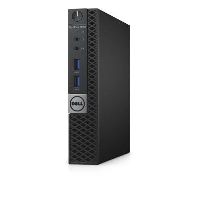 Dell pc: OptiPlex 3040 Micro - Core i3 - 4GB Ram - 128GB  - Zwart