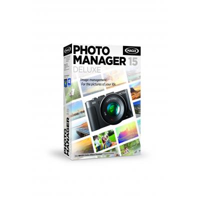 Magix Photo Manager 15 Deluxe Grafische software