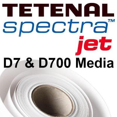 Tetenal fotopapier: D700 Gloss SpectraJet Media, 2pcs, 152mmx65m - Wit