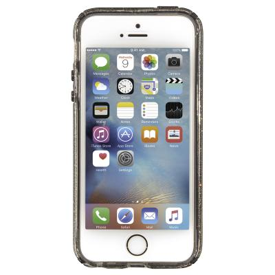 Speck apparatuurtas: iPhone 5 / 5s / Se CandyShell (Clear / Onyx Gold Glitter)