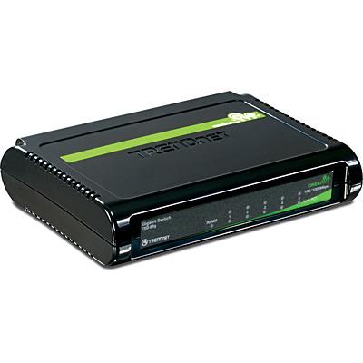 Trendnet 5-Port Gigabit GREENnet Switch - Zwart