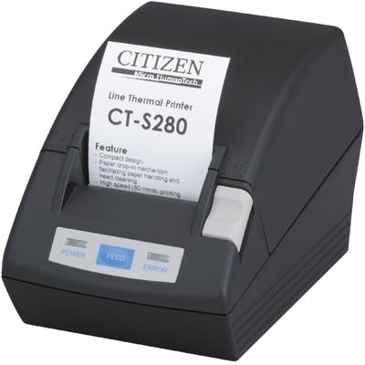 Citizen CT-S280 Pos bonprinter - Zwart