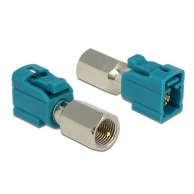 Delock coaxconnector: FAKRA Z plug, FME jack, 50 Ohm