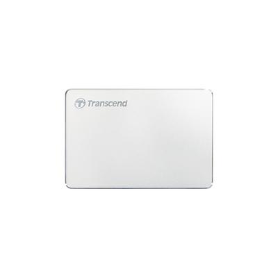 Transcend StoreJet 25C3S Externe harde schijf - Zilver