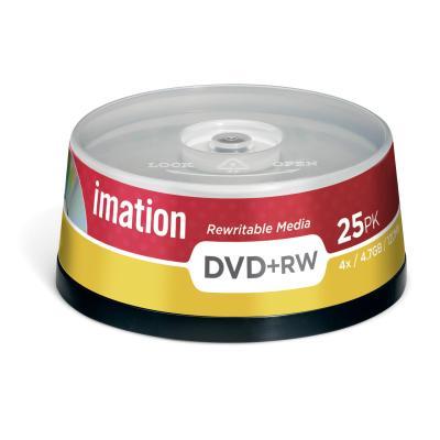 Imation DVD: 25 x DVD+RW 4.7GB