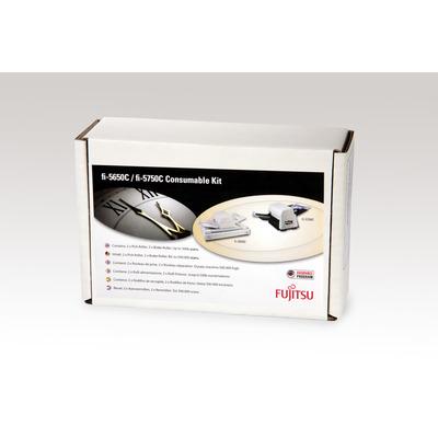 Fujitsu printing equipment spare part: Sets met verbruiksartikelen voor fi-5650C, fi-5750C - Multi kleuren