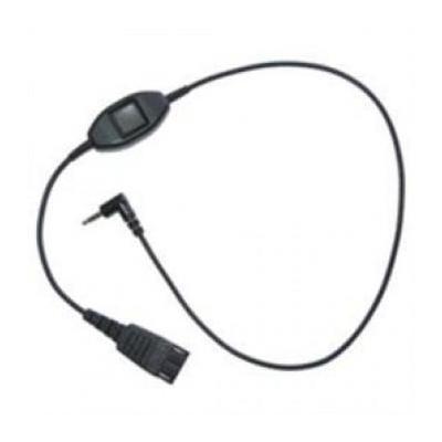 Jabra telefoon kabel: QD/Samsung mobile - Zwart