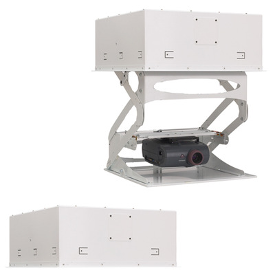 Chief SMART-LIFT Automated Projector Mount For Suspended Ceiling installations, Int'l use, 220V, White Projector .....