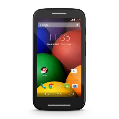 "Motorola smartphone: Moto E Moto E - 4.3"" 540 x 960, GSM, UMTS, Snapdragon 200 met 1.2GHz dual-core, 1GB RAM, MicroSD, ....."