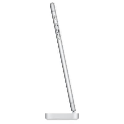 Apple mobile device dock station: iPhone Lightning Dock - Zilver