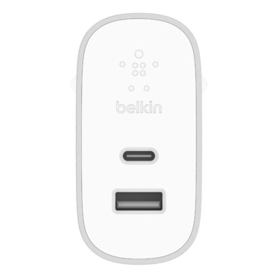 Belkin oplader: BOOST↑CHARGE - Zilver, Wit