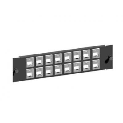 "Retex Patch-panel 19"" RJ45 Keystone/Systimax, SOHO Patch panel - Grijs"