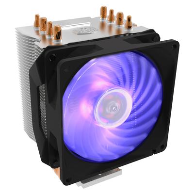 Cooler Master Hyper H410R RGB Hardware koeling - Zwart, zilver