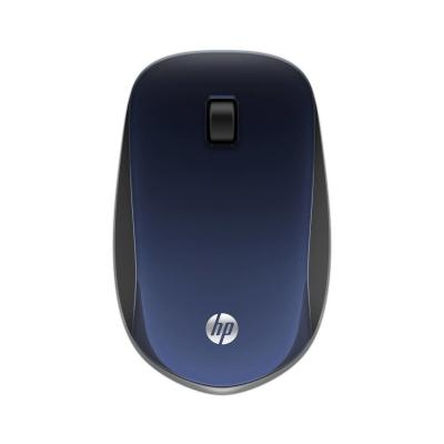 Hp computermuis: Z4000 blauwe draadloze muis - Zwart, Blauw
