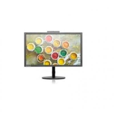 Lenovo monitor: ThinkVision T2424z - Zwart