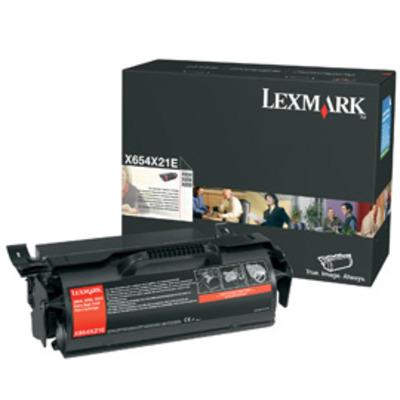 Lexmark X654X31E cartridge