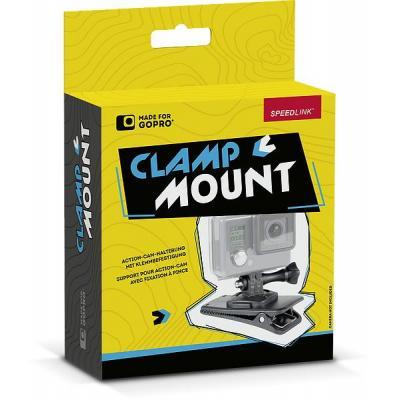 Speed-link : Clamp Mount, 360°, f/ GoPro - Zwart