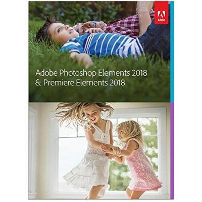 Adobe grafische software: Photoshop Elements & Premiere Elements 2018