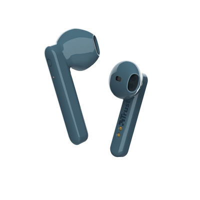 Trust Primo Touch - Stijlvolle draadloze oortjes - Bluetooth - Blauw Headset