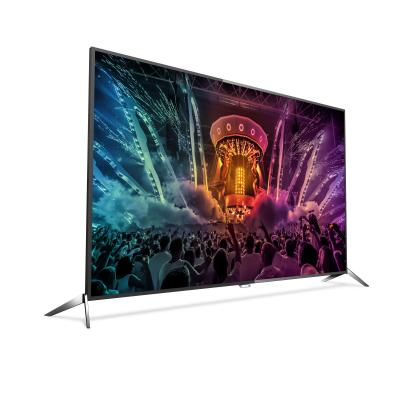Philips led-tv: 6000 series Ultraslanke 4K Smart LED-TV 65PUS6121/12 - Zwart