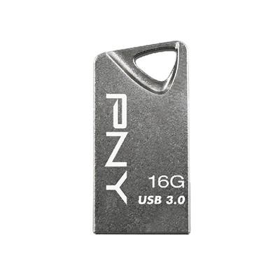 Pny USB flash drive: T3 Attaché 16GB - Grijs