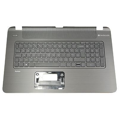 Hp notebook reserve-onderdeel: Top cover for Pavilion 17 Notebook PC computer models with full size textured .....