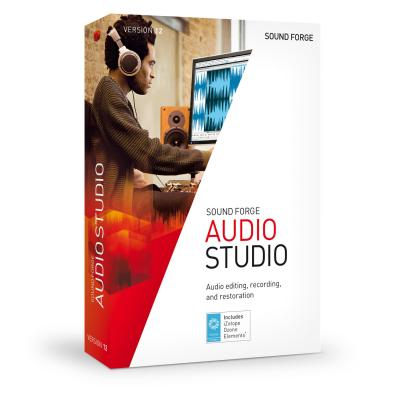 Magix audio software: Sony Sound Forge Audio Studio 12  PC