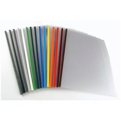 Unibind binding cover: Inbindmap SteelMat A4 5mm alum./ds 100