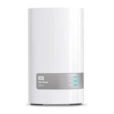 Western digital NAS: My Cloud Mirror 6 TB - Grijs, Wit