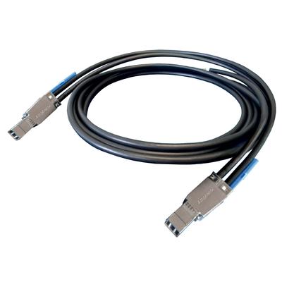 Microsemi ADAPTEC E-HDMSAS-E-MSAS-2M Kabel - Zwart