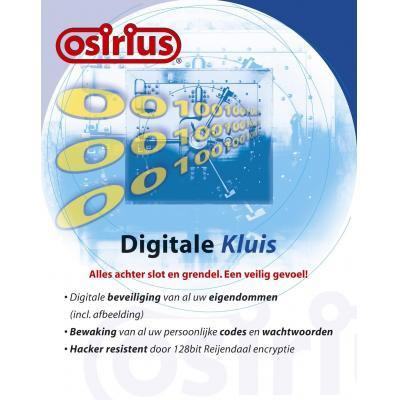 Osirius software suite: Digitale Kluis