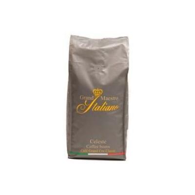 Grand maestro italiano koffie: Celeste koffie bonen 8x1000 gram