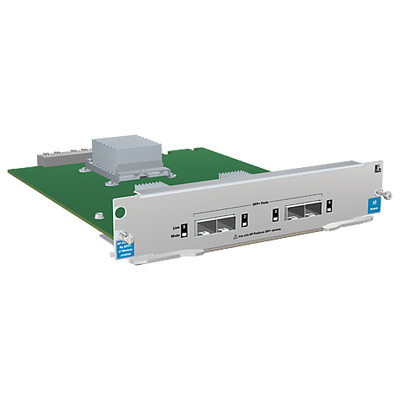 Hewlett packard enterprise netwerk switch module: HP 4-port 10GbE SFP+ zl Module