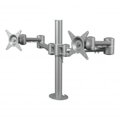 Dataflex monitorarm: Viewmate monitorarm - bureau 632 - Zilver