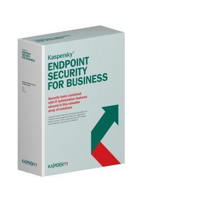 Kaspersky lab Endpoint Security f/Business - Select, 15-19u, 1Y, Base software
