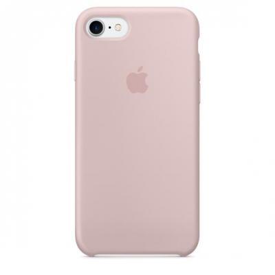 Apple mobile phone case: Siliconenhoesje voor iPhone 7 - Rozenkwarts