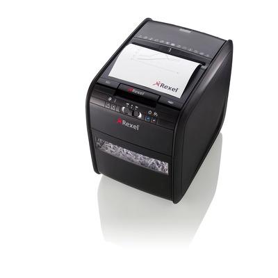 Rexel Auto + 80X Papierversnipperaar - Zwart