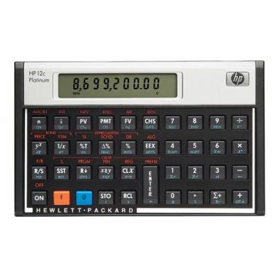 Hp calculator: 12c - Aluminium, Zwart