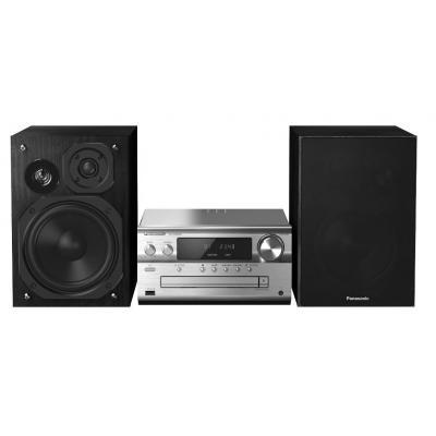Panasonic home stereo set: SC-PMX84 - Zwart, Zilver