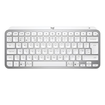 Logitech MX Keys Mini Minimalist Wireless Illuminated Keyboard - QWERTY Toetsenbord - Zilver,Wit