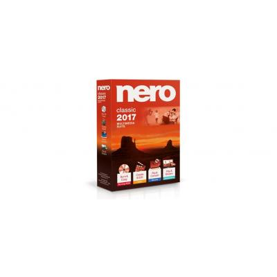 Nero software: 2017 Classic Box, Vollversion, FR/IT/ES