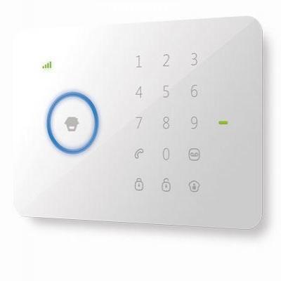 Chuango : 3G/SMS, 95dB, 3.7V, 800mAh, 850/900/1800/1900 MHz, 126 × 36 × 130 mm - Wit