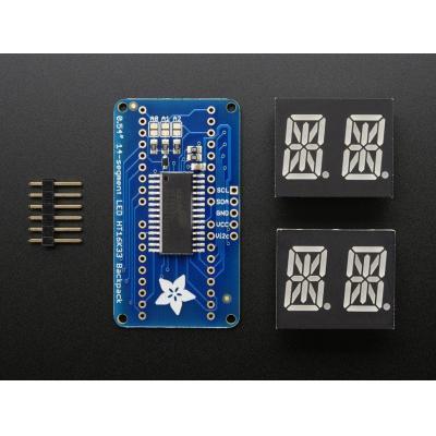 """Adafruit : 1.3716 cm (0.54 """") alphanumeric display LED, red, 4 digits, 5-pin"""