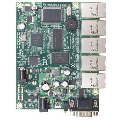 Mikrotik 300MHz CPU, 64MB RAM, 5xEthernet, RouterOS L5