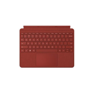 Microsoft Surface Go Type Cover Mobile device keyboard - Rood