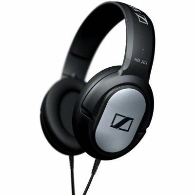 Sennheiser koptelefoon: HD 201 - Zwart, Zilver